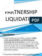 AFAR -  Partnership Liquidation