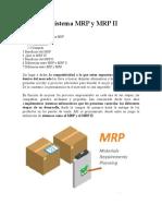 Elementos del  sistema MRP