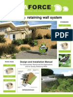 Terra Force Retaining wall Manual