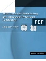 ASME Geometric Dimensioning