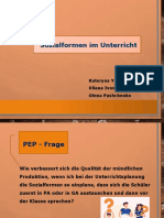 PEP-Präsentation