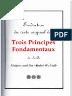 THALATHA-L-USSUL (Les Trois Fondements) M. ibn abdalWahabb