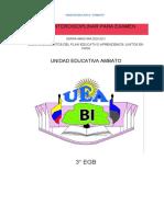 Fícha Pedagógica Examen 3 EGB ELEMEN.Interdisciplinar