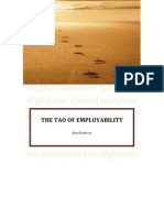 THE TAO OF EMPLOYABILITY