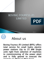 BOVING FOURESS HYDRO TURBINE