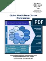 Global Health Data Charter Endorsement