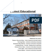 Proiect Educational DPPD2 PMPE 2018