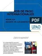 MEDIOS DE PAGO INTERNACIONALES - semana 10 B