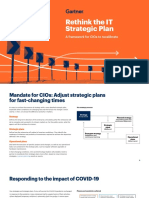 A Framework for CIOs to Recalibrate - Rethink the IT Strategic Plan