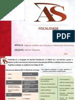 AS - Regime Jurídico das Facturas e Documentos e Submissão Electrónica