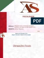 AS - Obrigações Fiscais e Declarativas do IVA (RT e RNS)