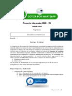 ESTADISTICA INFERENCIAL - PRODUCTO ACADEMICO Nº1