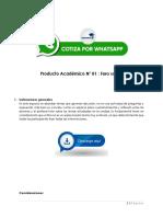 Herramientas Virtuales Para El Aprendizaje - PRODUCTO ACADEMICO Nº1