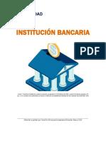Unidad 2. Recurso 1. lectura. Institución Bancaria. 2018