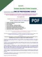 Esercitazione Di Protezione Civile - Tarquinia