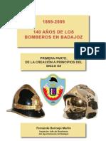 Historia de Los Bomberos de Badajoz
