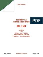 ELEMENTI di PRIMO SOCCORSO  - DEFIBRILLATORE