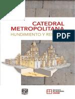 Anti Hundimiento Catedral Metropolitana