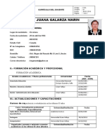 CV BETTY JUANA GALARZA MARIN