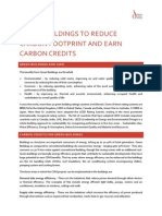 GREEN BUILDINGS TO REDUCE CARBON FOOTPRINT AND EARN CARBON CREDITS