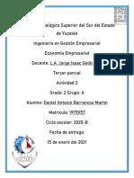Barrancos Daniel Producción y Costos
