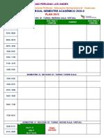 ROL DE EVALUACION FINAL Y COMPLEMENTARIO SEMIPRESENCIAL HUANCAYO  2020-II