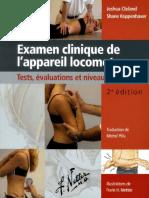 Examen clinique de l'appareil locomoteur 2e édition