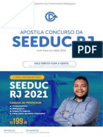 Concurso SEEDUC RJ - 2021