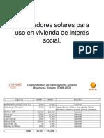 calentadores  Solar