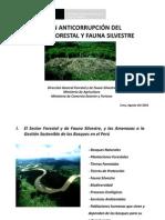 PLAN ANTICORRUPCIÓN DEL SECTOR FORESTAL Y FAUNA SILVESTRE