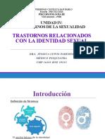 III Psicopatología Alteraciones de La Identidad y Orientación Sexual