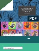 Fundamentos teóricos de grupos