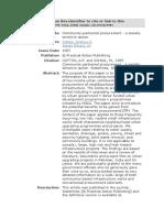 Community-partnered procurement a socially sensitive option