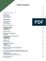 Business Associations Outline