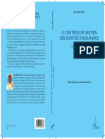 LE CONTRÔLE DE GESTION DES SOCIÉTÉS D'ASSURANCE