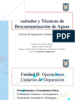 Clase 7 - Operaciones Unitarias de Depuración
