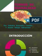 TRASTORNOS  DE  LA  PERSONALIDAD - DIAPOSITIVAS