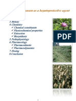 Silybum Marianum as a Hepatoprotective Agent