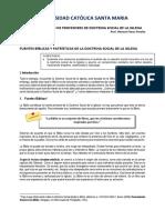 Tema - Fuentes biblicas y patrísticas - DSI