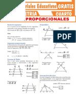 Líneas-Proporcionales-Para-Cuarto-Grado-de-Secundaria
