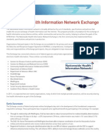 Nationwide Health Information Network Exchange