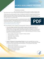 Get the Facts about Health IT Workforce Development Program
