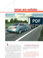 sistemas pre-colisión