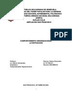 COMPORTAMIENTO ORGANIZACIONAL. UNIDAD II. SEGUNDA PARTE. ALEXANDRA GOTRA.