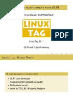 Linuxtag 2011 It Asset Management Glpi Fusioninventory 110516042400 Phpapp01