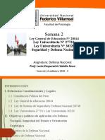 PPT 2 Defensa Nacional 2020 2