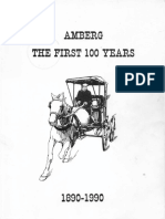 Amberg the First 100 Years 1890-1990