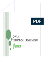 Cartilha Competências Organizacionais