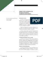 Dirección general de publicaciones y fomento editorial