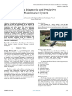 Remote Diagnostic and Predictive Maintenance System